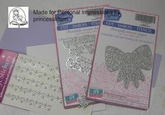 Personal Impressions Blog: Sweet Dixie Bow Inset Card