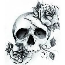 Resultado de imagen de tattoo skull