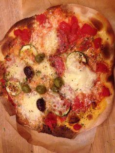 Feine Pizza a la Caroline