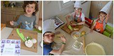 Cocinando en familia, actividad montessori