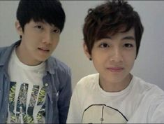Pre-debut V and J-Hope