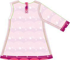 de droomfabriek: Gratis patroon tricot jurkje met lange mouw
