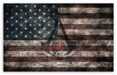 Assassin's Creed III - American Eroded Flag wallpaper