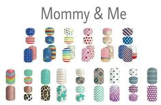 2015 Fall/Winter Jamberry Mommy & Me Collection ... https://LuvYourNailStyle.jamberry.com/