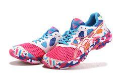 Womens Asics Gel-noosa TRI 7 Shoes Pink White Yellow