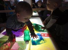 Creativity with infants. Boulder Journey School
