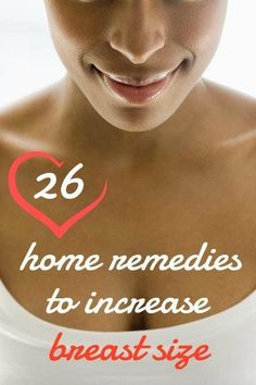 Learn effective ways to enhance your breast size fast and naturally at home without side effects!