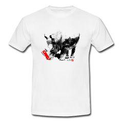 Skate Rhino T-shirt http://whatstreetwear.spreadshirt.it/