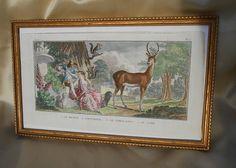 French Antique Print Bichon Fris by StudioNu on Etsy, $42.00