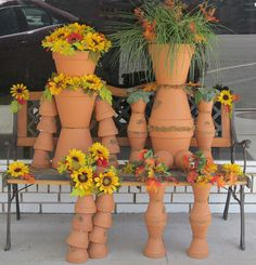 flower pot people. Downtown Elkhart | Flickr - Photo Sharing!