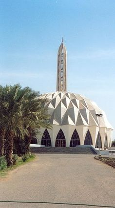 Al-neelain (the two Nile) masjid in Khartoum -  Sudan