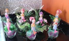 Mermaid centerpieces