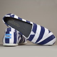anything that is blue and white and striped is okay by me!