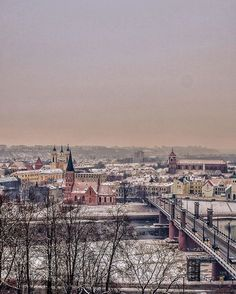 #BLOGPOST  Before going back again to Belgium for half a year we decided to take a walk through our home town #Kaunas (#Lithuania), which was dressed up in snow. 😍❄️ We were wandering through our most beloved places, trying to look at our city from a tourist's perspective.. and we loved it! ❤ Everything from old interwar period buildings to confluence of our country's biggest rivers makes this city great! 💥🤘🏻Though, it still needs some work to be done to fulfill its potential, but for…