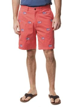 Embroidered Shorts, the preppy classic. Seersucker, Patch Madras, Canvas summer shorts – Castaway Nantucket Island