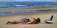 """Daily Paintworks - """"Surrender"""" - Original Fine Art for Sale - © Karin Jurick"""