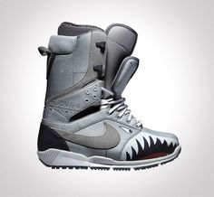 Danny Kass s Nike Snowboarding Zoom DK QS Double Tongue Boot is dropping in  November in a look inspired by shark adorned military fighter jets of the  past. 236518f5afe
