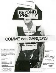Image result for 80s black and white comme des garcon ads