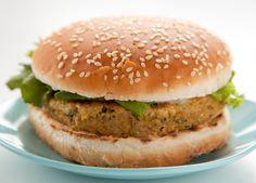 Ceci-burger: Hamburger vegetariano di ceci   Un'americana in cucina