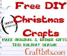 Image detail for -DIY Christmas Crafts & Gifts