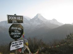 Poonhill View Point (Annapurna Region)