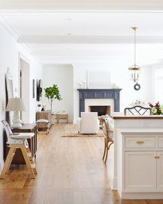 Blue White Decor, Home, Florida Design, Interior, Furnished Apartment, White Oak Floors, Beautiful Homes, Luxury Homes, Luxury Interior Design