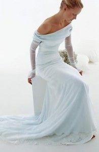 Light Blue Wedding Dresses - The Wedding SpecialistsThe Wedding Specialists Light Blue Wedding Dress, Blue Wedding Dresses, Wedding Dress Styles, Blue Dresses, Dress Wedding, Wedding Blue, Trendy Wedding, Wedding Ideas, Blue Bridal