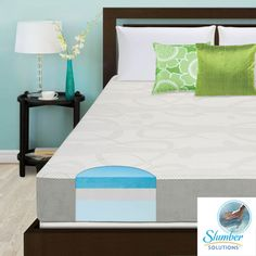 Slumber Solutions Choose Your Comfort 8-inch King-size Gel Memory Mattress | Overstock.com Shopping - Great Deals on Slumber Solutions Mattresses