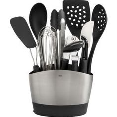 10-Piece OXO® Crock with Tools Set    $59.95