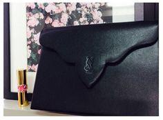 Logo engraved YSL clutch bag www.hedyjp.com. Hedyjp japan · Vintage Yves  Saint Laurent 390c36c4bf6f4