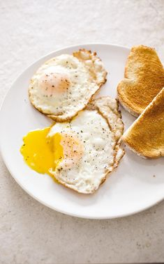 Perfect Fried Eggs. A hot nonstick skillet, a touch of butter, and a lid combine to produce perfectly cooked fried eggs—with crisp edges, tender whites, and runny yolks—in just a few minutes.
