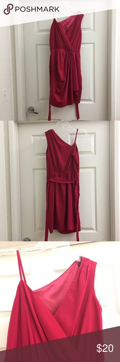 Express raspberry colored dress Express raspberry colored dress Express Dresses