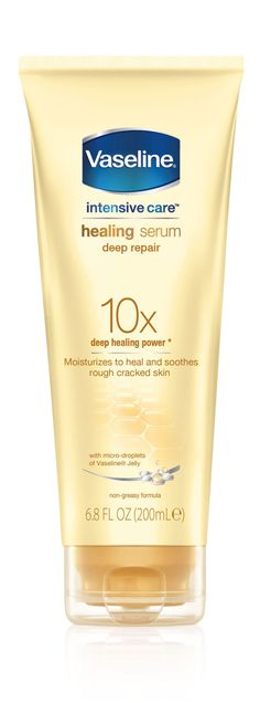 Not just for the face anymore, this body serum delivers heavy hydration with a light touch. Lab Notes In our tests, skin's moisture levels increased 44% after six hours. Vaseline Intensive Care Healing Serum Deep Repair, $8, drugstores  - GoodHousekeeping.com