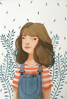 Echa un vistazo a este proyecto @Behance: \u201cA commission for Laura\u201d https://www.behance.net/gallery/38159889/A-commission-for-Laura