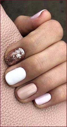 Cute Acrylic Nails, Acrylic Nail Designs, Cute Nails, Pretty Nails, Cute Nail Art Designs, Toe Nail Designs, Short Gel Nails, Short Nails Art, Short Nail Manicure