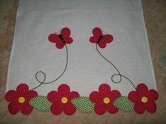 Aplicaciones Patchwork Flores Ideas 55 New Ideas Wool Applique, Applique Patterns, Applique Designs, Embroidery Applique, Machine Embroidery, Quilt Patterns, Embroidery Designs, Patch Quilt, Quilt Blocks