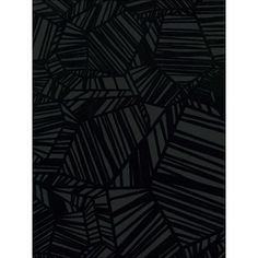 Sample Pyrite Velvet Flocked Wallpaper in Ebony from the Plush... (3.019 KWD) ❤ liked on Polyvore featuring home, home decor, wallpaper, flock wallpaper, black wallpaper, velvet wallpaper, burke decor and black home decor
