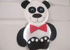 2012 Paper Plate Panda