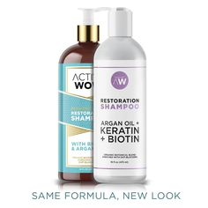 Argan Oil Hair Restoration Shampoo