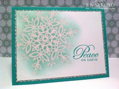 Stamped Silly: Sparkling Snowflake
