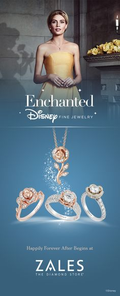 Celebrate your own Happily Forever After™ with Enchanted Disney Fine Jewelry f. - Celebrate your own Happily Forever After™ with Enchanted Disney Fine Jewelry from Zales. Disney Wedding Rings, Disney Rings, Disney Jewelry, Disney Inspired Rings, Disney Engagement, Engagement Rings, Silver Jewelry Box, Sea Glass Jewelry, Silver Ring