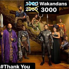 3000 Certified Wakandan followers!   Thank you for the hard work you all put in with your costumes cosplay photos edits videos and more.  This instagram account is merely just a way to share everyones Wakandan greatness.  Keep supporting each other and bringing the best you can to the table.  2018 - Year of the Panther  #thankyou  #3000followers #blackpanther #blackpanthercosplay #wakanda #wakandannation #doramilaje #nakia #ayo #shuri #killmonger #tchalla #cosplay #community