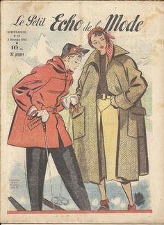 LE PETIT ECHO DE LA MODE N°49 3 decembre  1950  revue ancienne | Livres, BD, revues, Revues, Style de vie et mode | eBay!