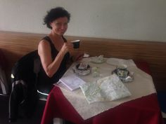 Coffee with maps