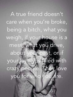A un verdadero amigo no le importa...