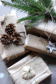 Jolis emballages pour Noël