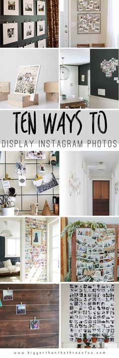 10 Ways to Display Instagram Photos