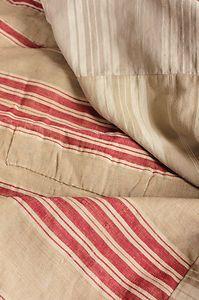 Antique french linen, ebay.