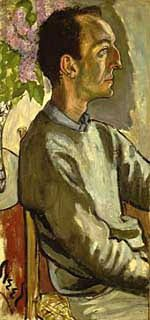 Portrait of Frank O'Hara, 1960, Alice Neel