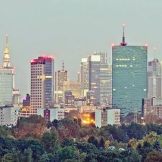 Warsaw Poland, Skyscrapers, Homeland, Seattle Skyline, My World, Polish, Europe, Building, Places